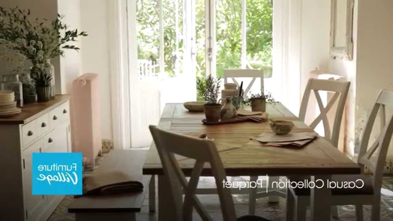 Furniture With Parquet Dining Chairs (View 2 of 20)