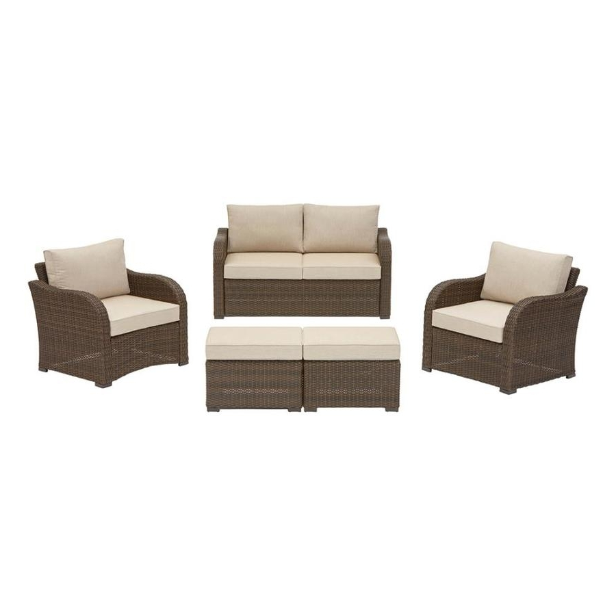 Garten Storm Chairs With Espresso Finish Set Of 2 Inside Famous Shop Patio Furniture Sets At Lowes (View 14 of 20)