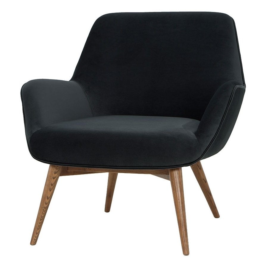 Grady Modern Lounge Chair In Shadow Gray (Gallery 15 of 20)