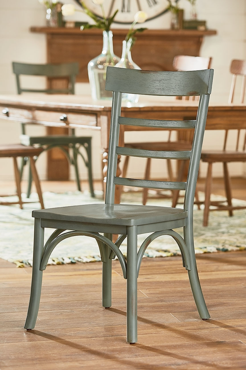 Harper Side Chair – Magnolia Home Throughout Most Up To Date Magnolia Home Harper Patina Side Chairs (View 5 of 20)