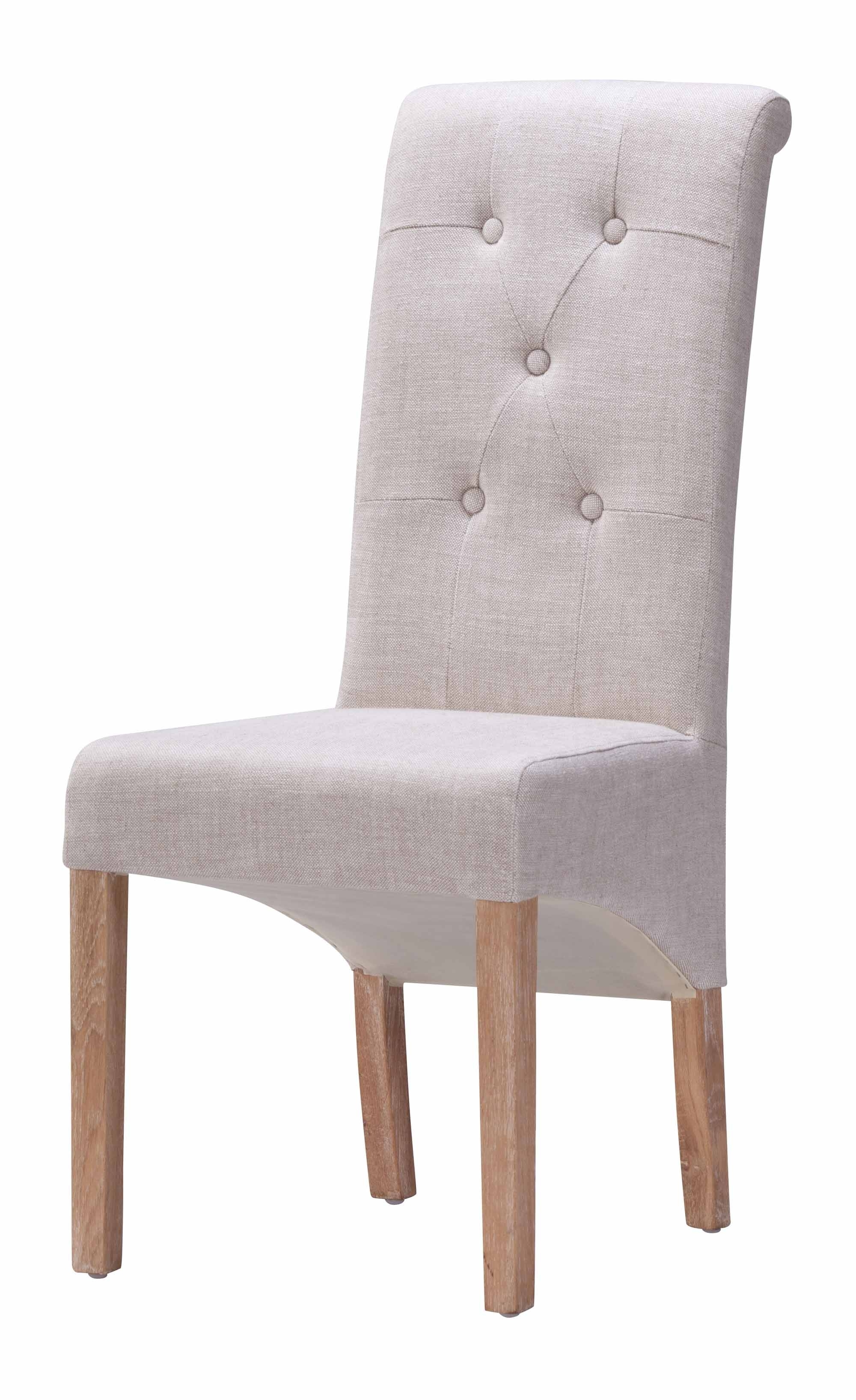 Hayes Valley Dining Chair Beige (set Of 2)zuo Modern Inside Fashionable Hayes Side Chairs (View 12 of 20)