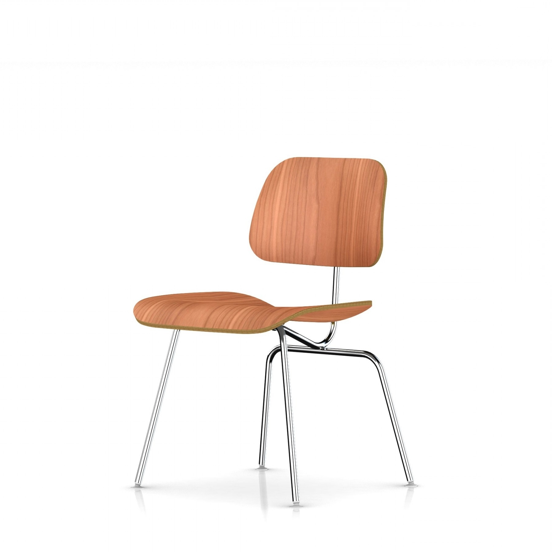 Herman Miller Eames® Molded Plywood Dining Chair – Metal Legs – Gr Intended For 2017 Plywood & Metal Brown Dining Chairs (Gallery 9 of 20)