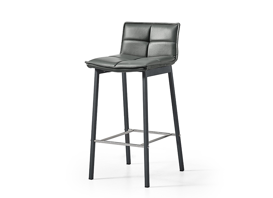 Jaxon Grey Upholstered Side Chairs With Regard To Current Jaxon Barstool – Jar Furniture (View 11 of 20)
