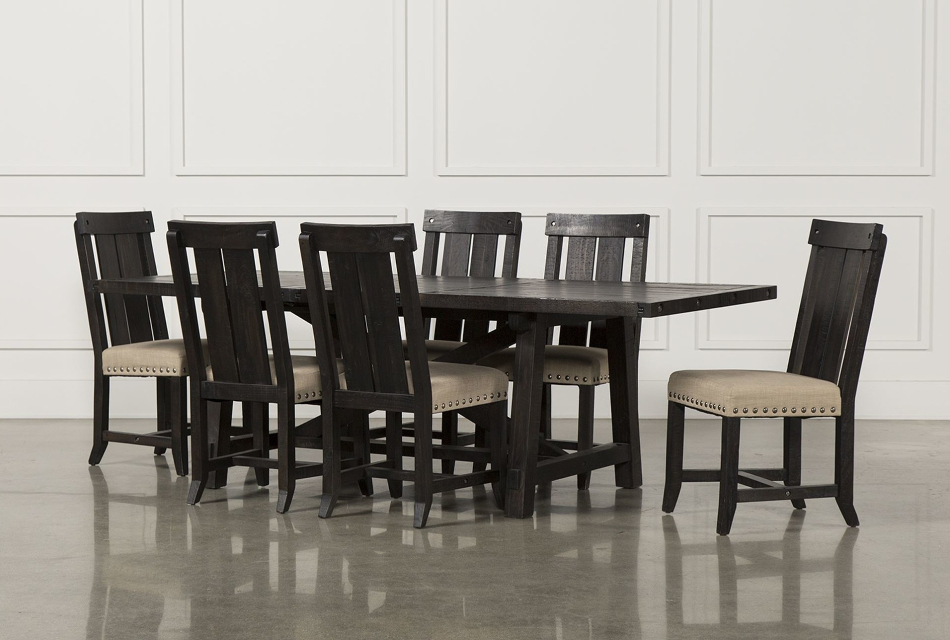 Jaxon Grey Wood Side Chairs In Most Up To Date Tables, Chairs, & Servers – Hello Furniture (Gallery 6 of 20)