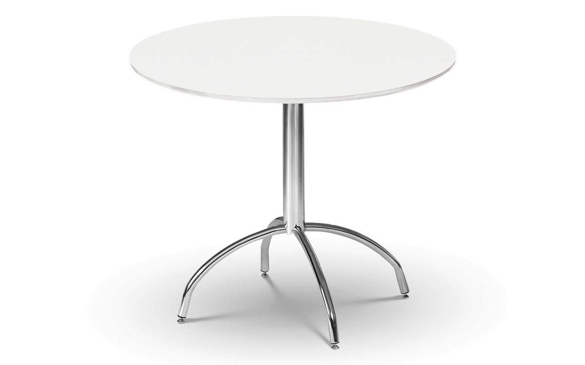 Julian Bowen Mandy Dining Table, White: Amazon.co (View 5 of 20)