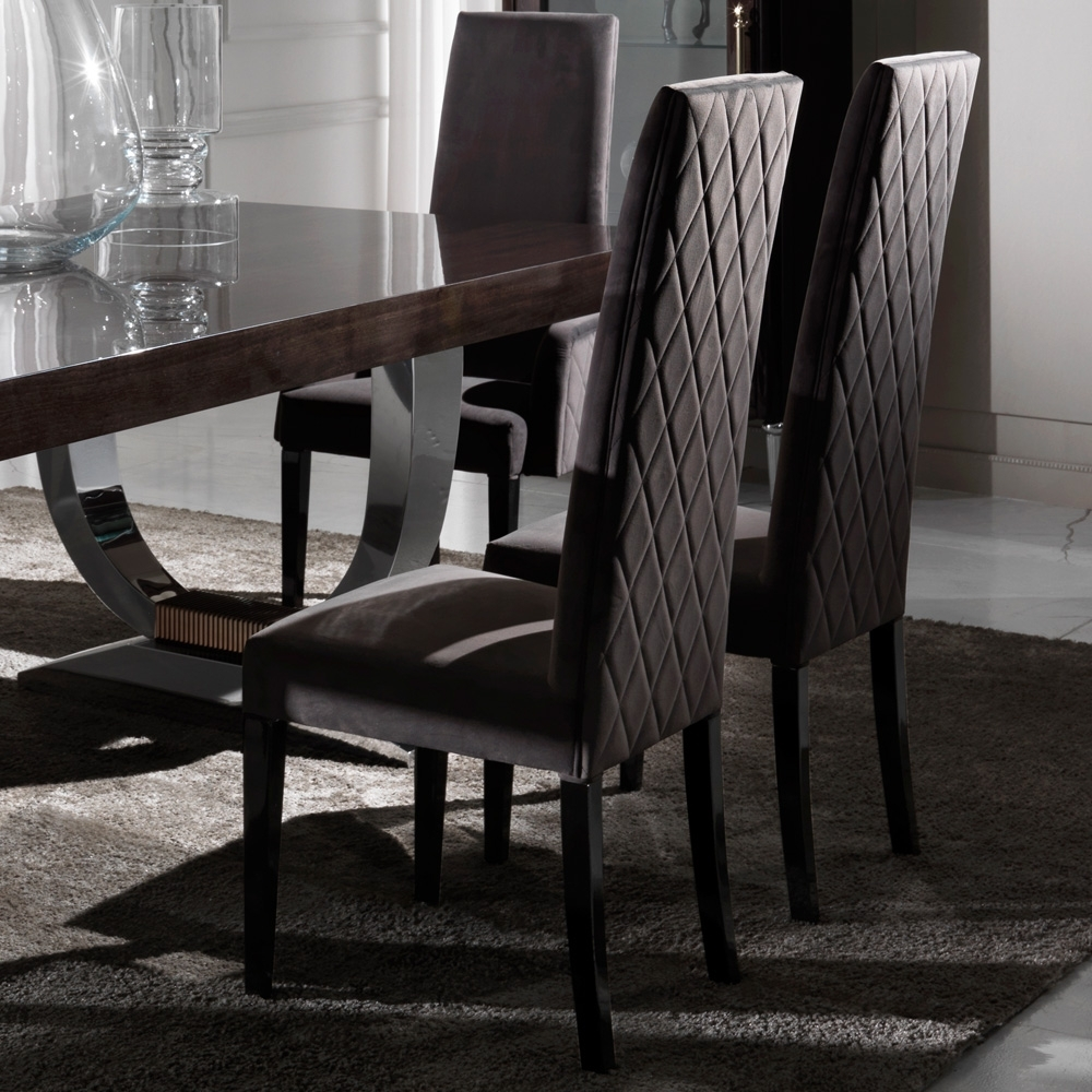 Juliettes Interiors Regarding Quilted Black Dining Chairs (View 10 of 20)
