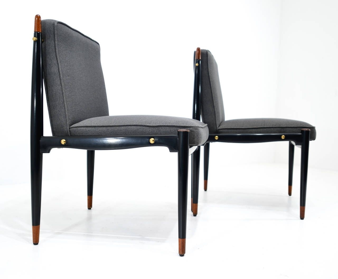 Kyle Side Chairs Intended For Famous Frank Kyle Set Of Ten Dining Chairs (Gallery 2 of 20)