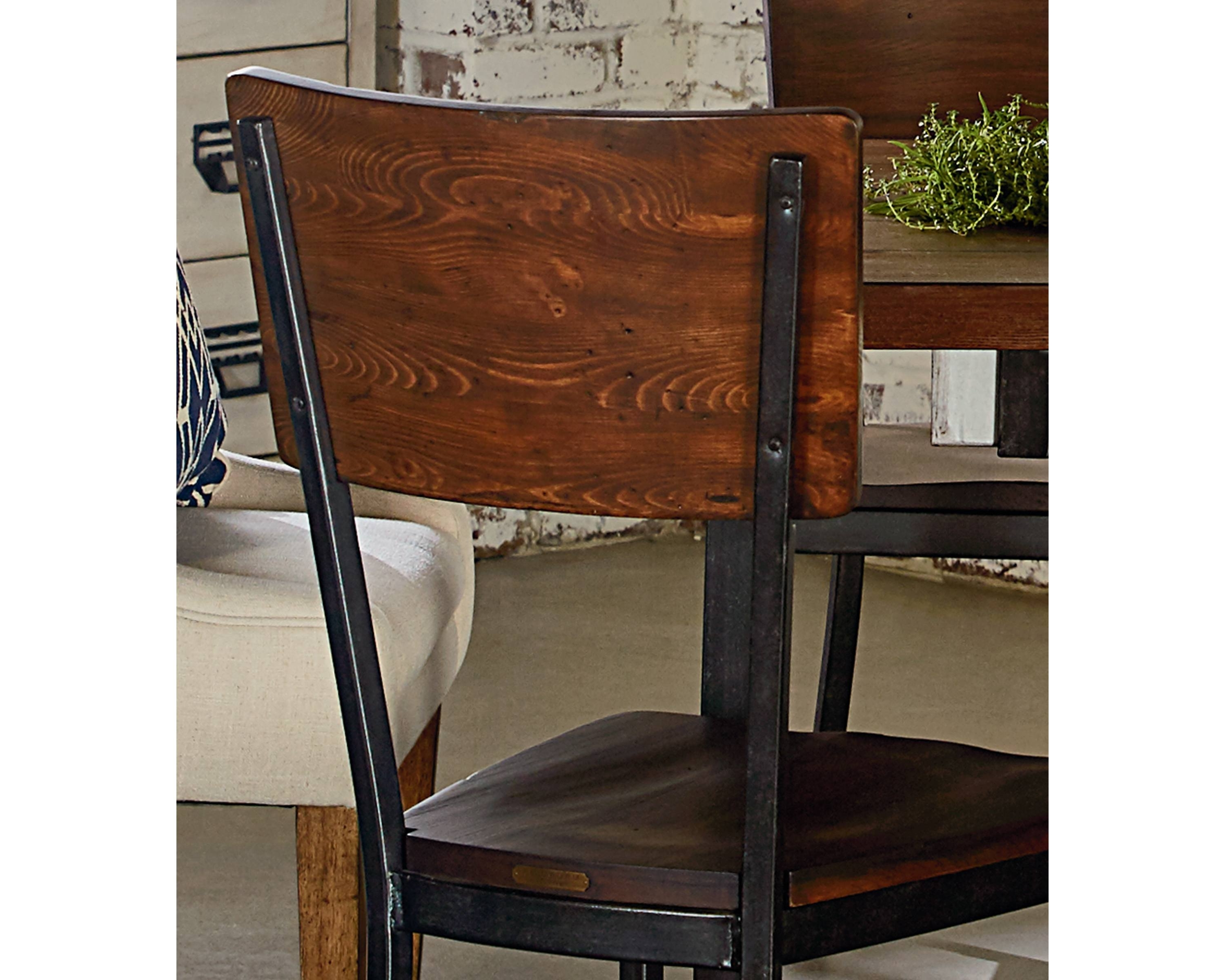 Latest Contour Side Chair – Magnolia Home Pertaining To Magnolia Home Contour Milk Crate Side Chairs (View 5 of 20)