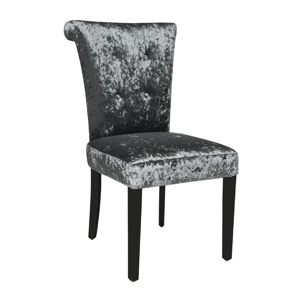 Latest Dark Olive Velvet Iron Dining Chairs With Bolero Crushed Velvet Dining Chair (olive Grey) (pack 2) – Furniture (View 19 of 20)