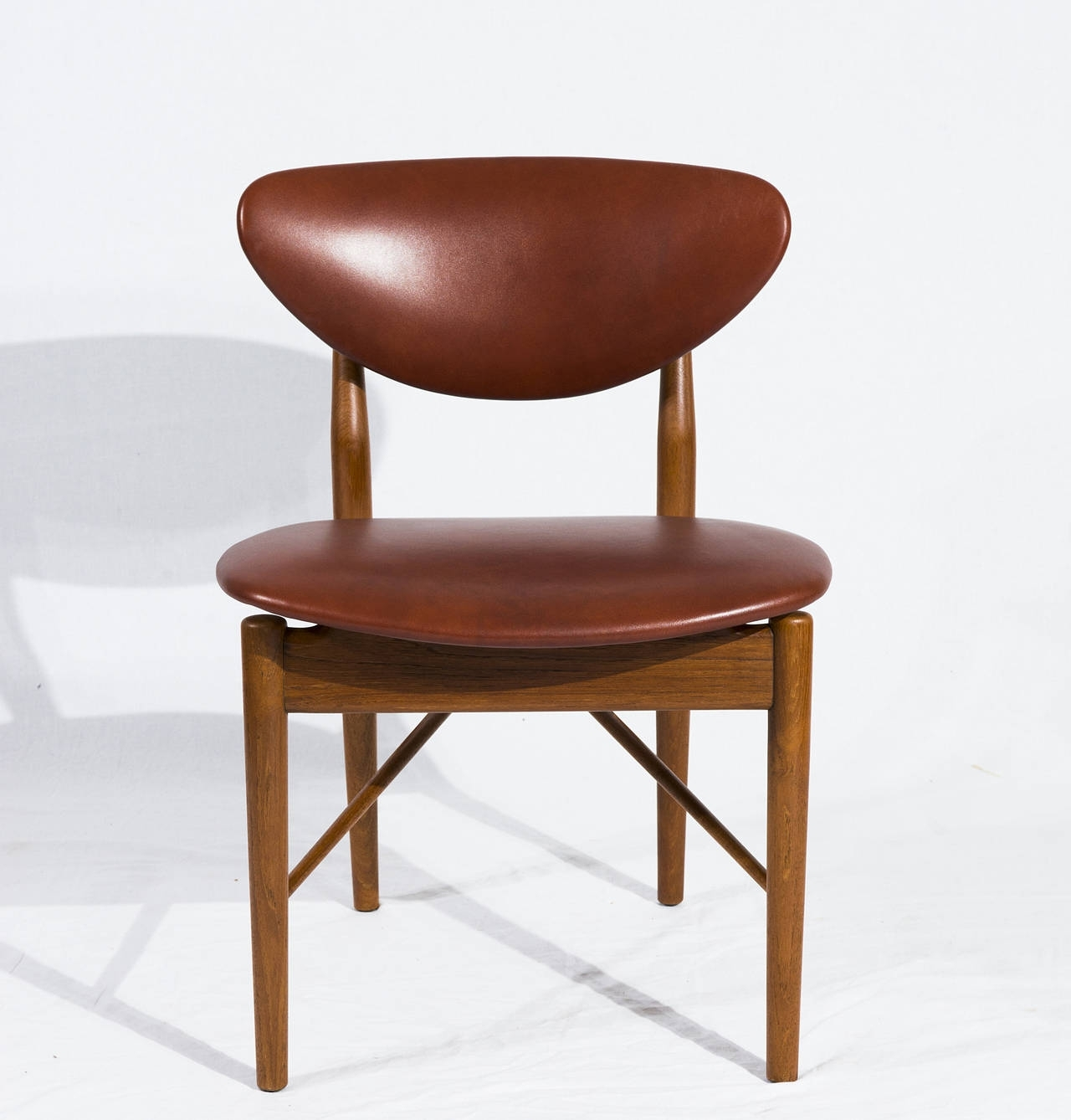 Latest Finn Juhl Nv 55 Side Chair At 1Stdibs Throughout Dodger Side Chairs (View 9 of 20)