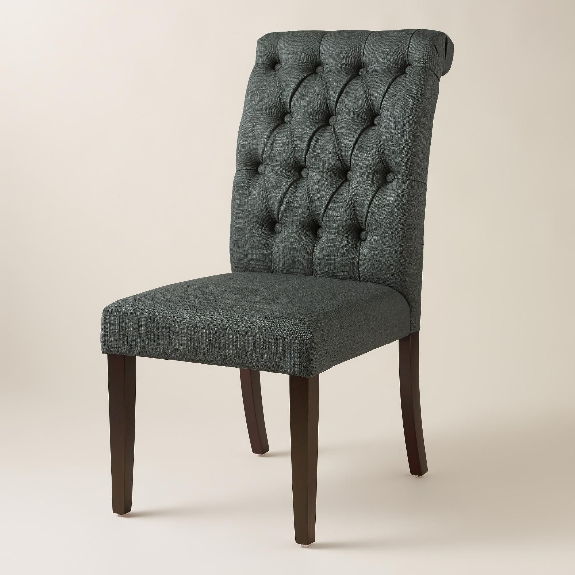 Latest Market Side Chairs Pertaining To Definedelegant Tufted Buttons, A Curved Silhouette And Birch (View 6 of 20)