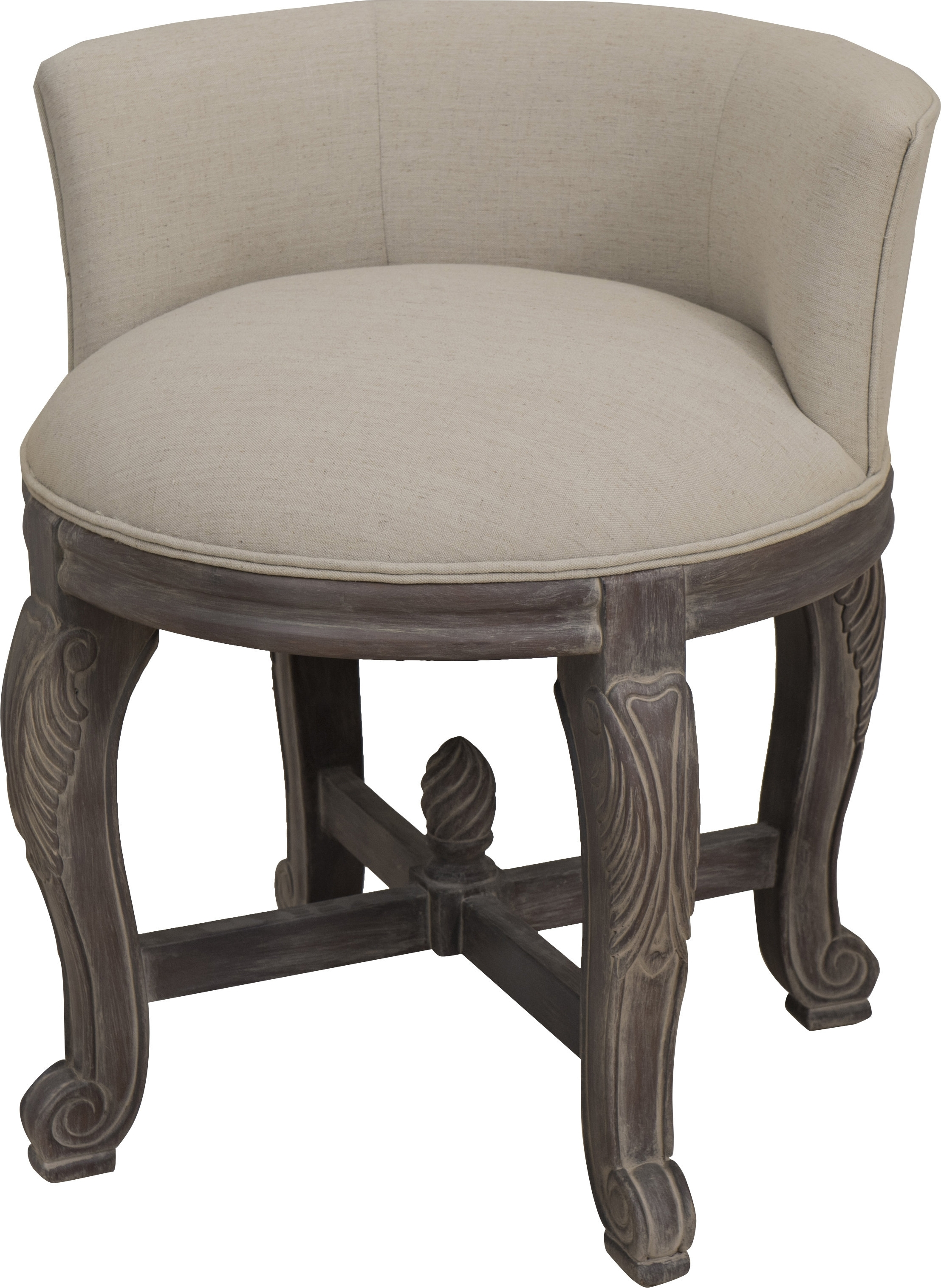 Latest Perla Vanity Chair & Reviews (View 6 of 20)