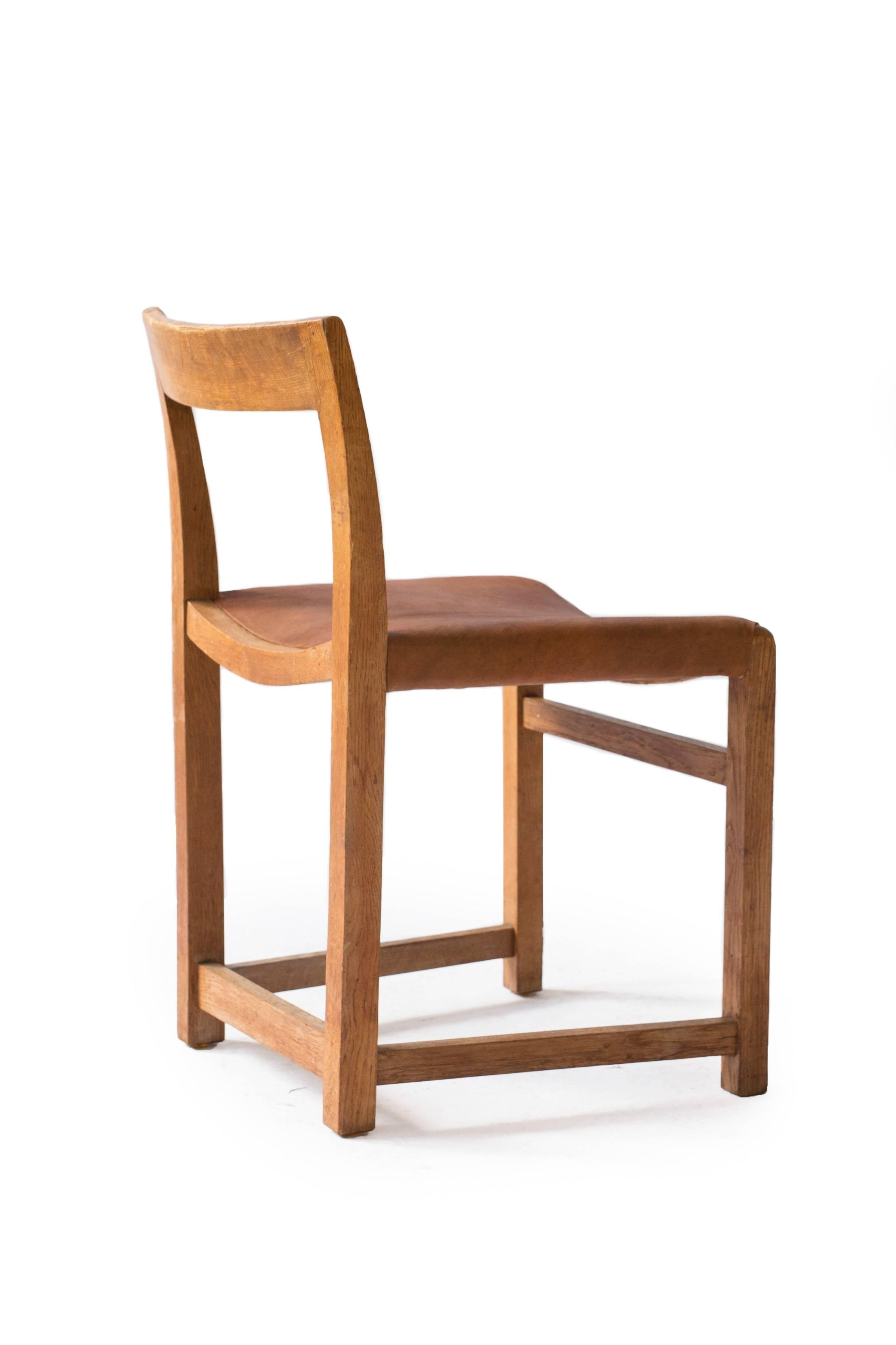 Latest Rare Mogens Lassen Oak Side Chair, 1934 At 1stdibs With Regard To Lassen Side Chairs (View 2 of 20)
