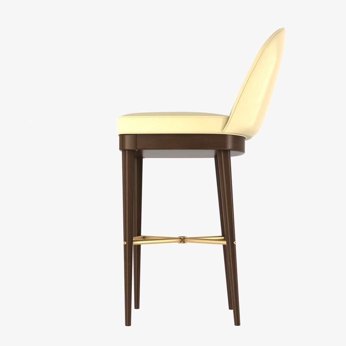 Laurent Bar Stoolhickory Chair Furniture 3D Model Max Obj Mtl Regarding Well Liked Laurent Wood Side Chairs (Gallery 10 of 20)