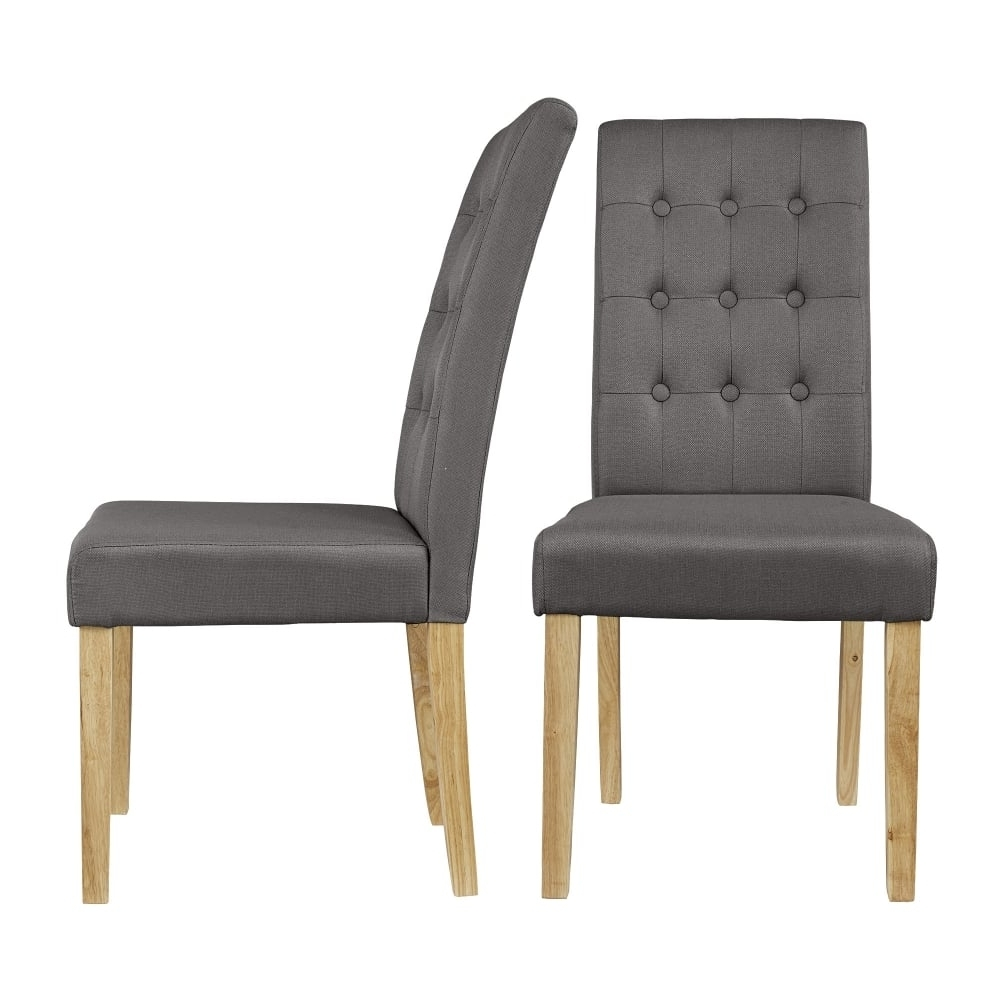 Leader Stores Within Grey Dining Chairs (Gallery 9 of 20)