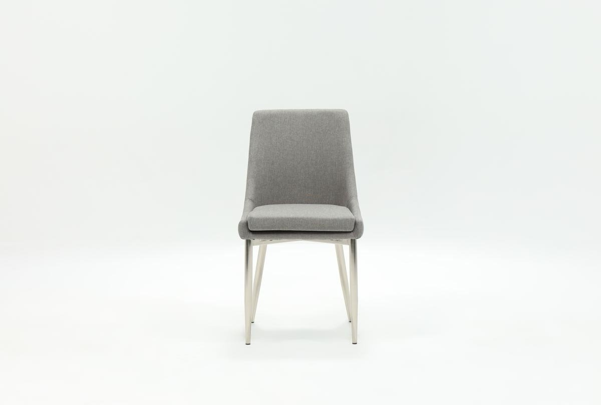 Living Spaces In Most Recently Released Celler Grey Side Chairs (View 2 of 20)