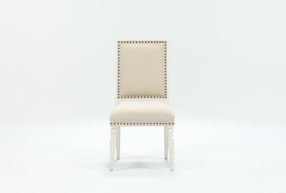 Living Spaces Regarding Candice Ii Upholstered Side Chairs (View 2 of 20)