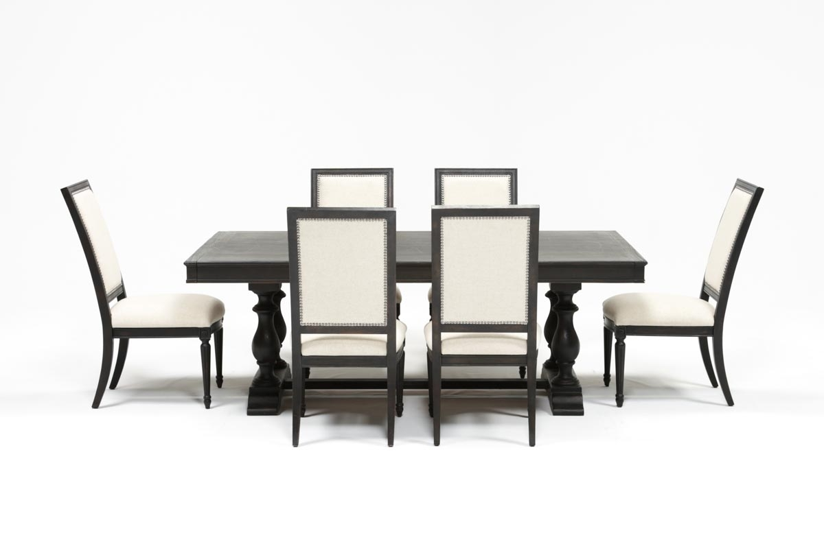 Living Spaces With Chapleau Ii Side Chairs (View 15 of 20)