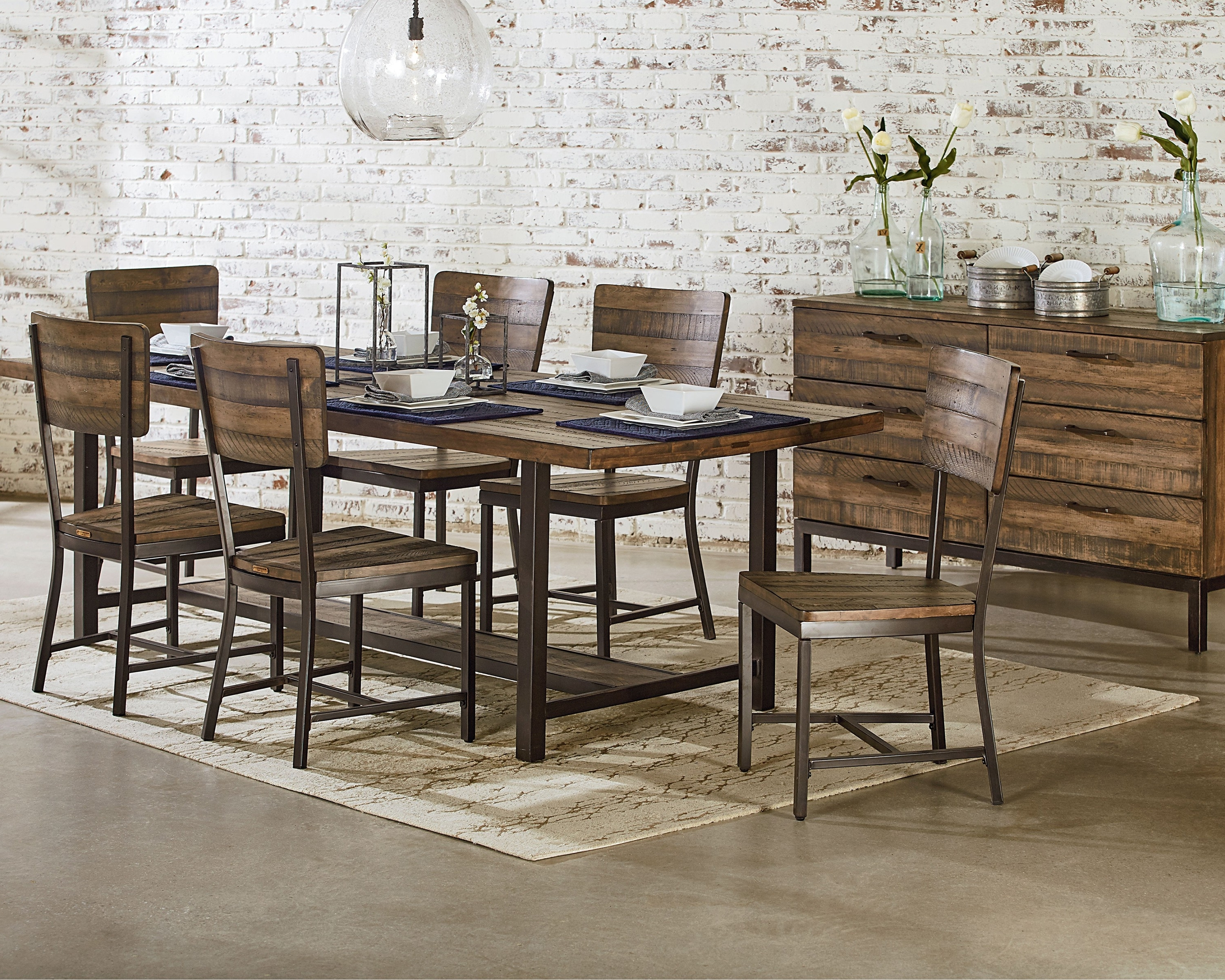 Magnolia Home Contour Milk Crate Side Chairs Regarding Fashionable Contour Side Chair – Magnolia Home (View 7 of 20)