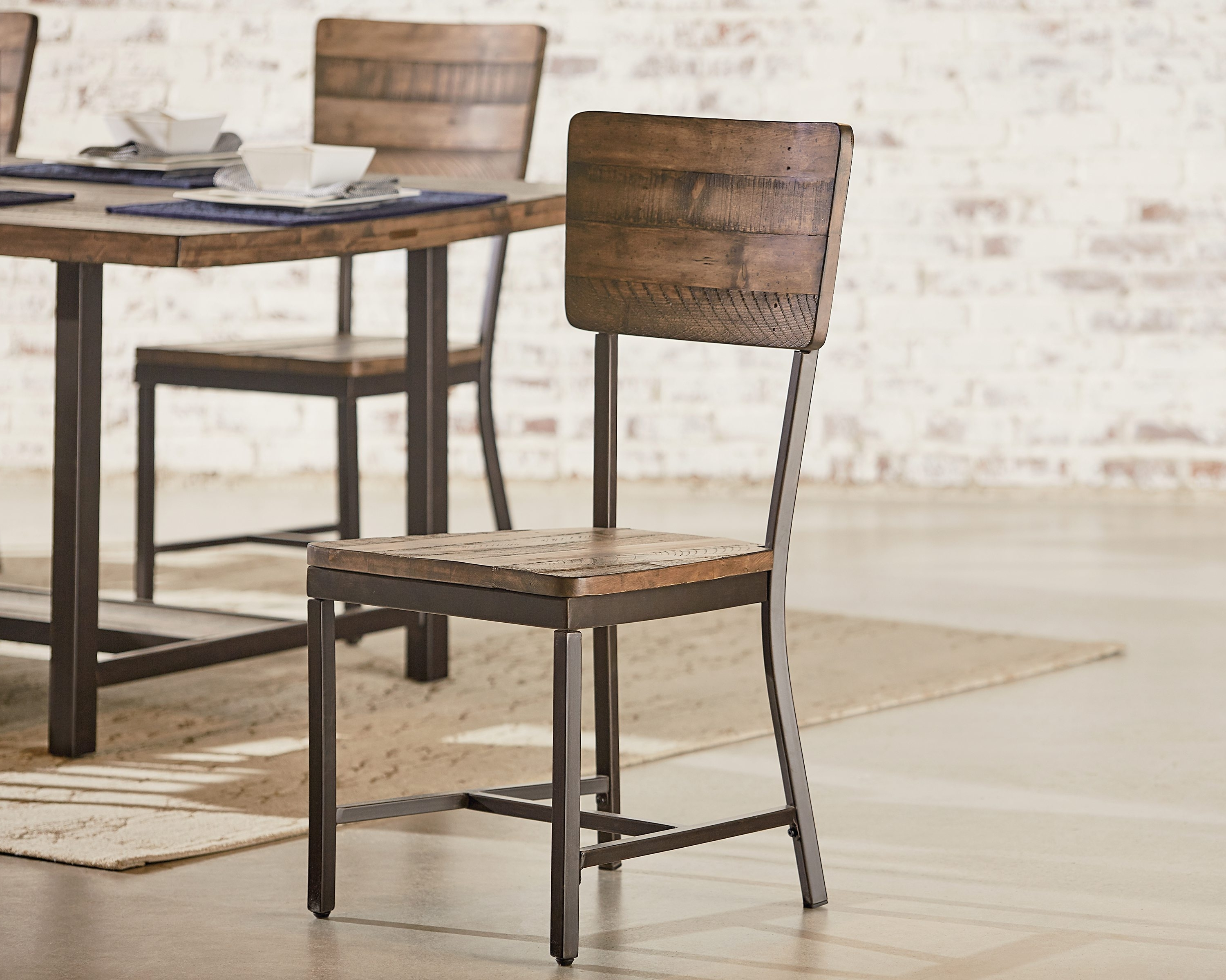 Magnolia Home Contour Milk Crate Side Chairs Regarding Trendy Contour Side Chair – Magnolia Home (View 4 of 20)