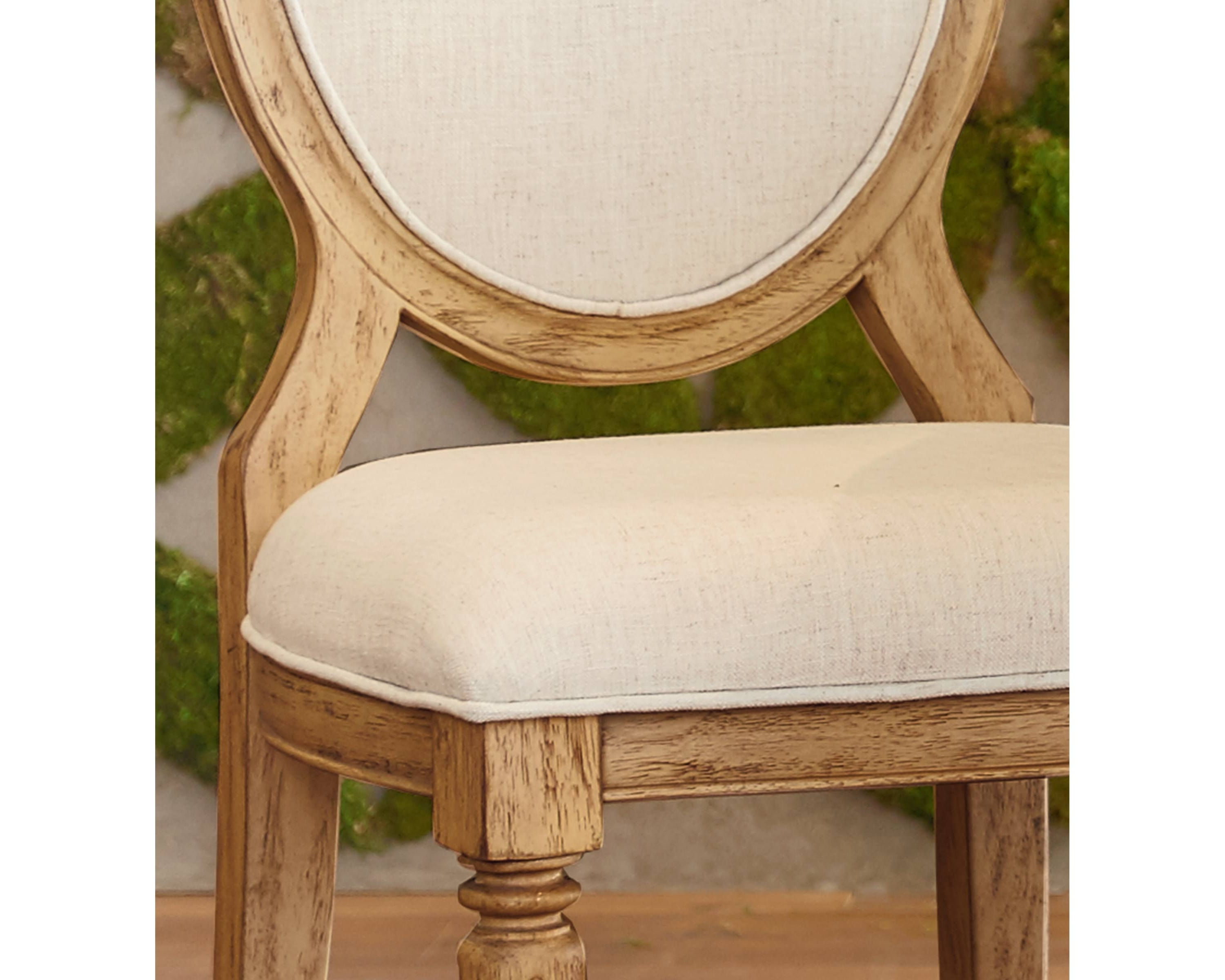 Magnolia Home Emery Ivory Burlap Side Chairs Throughout Best And Newest Emery Side Chair – Magnolia Home (View 3 of 20)