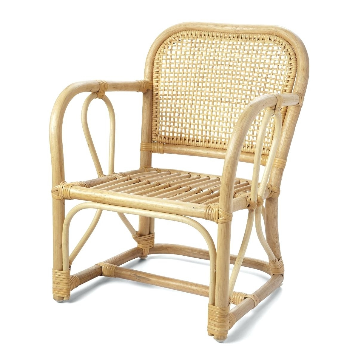 Magnolia Home Entwine Rattan Arm Chairs With Regard To Well Liked Rattan Arm Chair Rattan Armchair Rattan Dining Armchair – Dgsports (View 7 of 20)