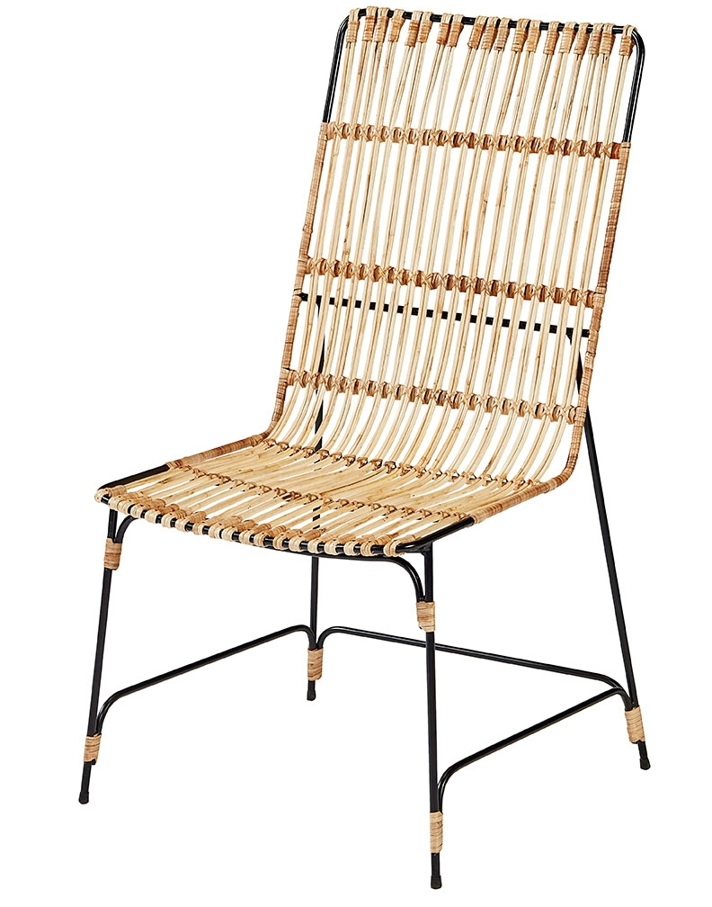 Featured Photo of Magnolia Home Entwine Rattan Side Chairs