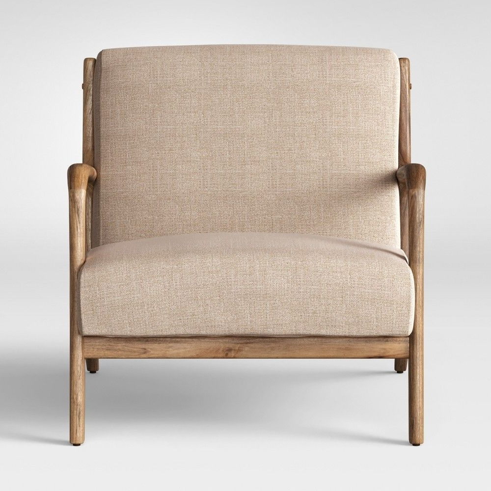 Magnolia Home Fog Bloom Chair In Current Magnolia Home Emery Ivory Burlap Side Chairs (View 11 of 20)