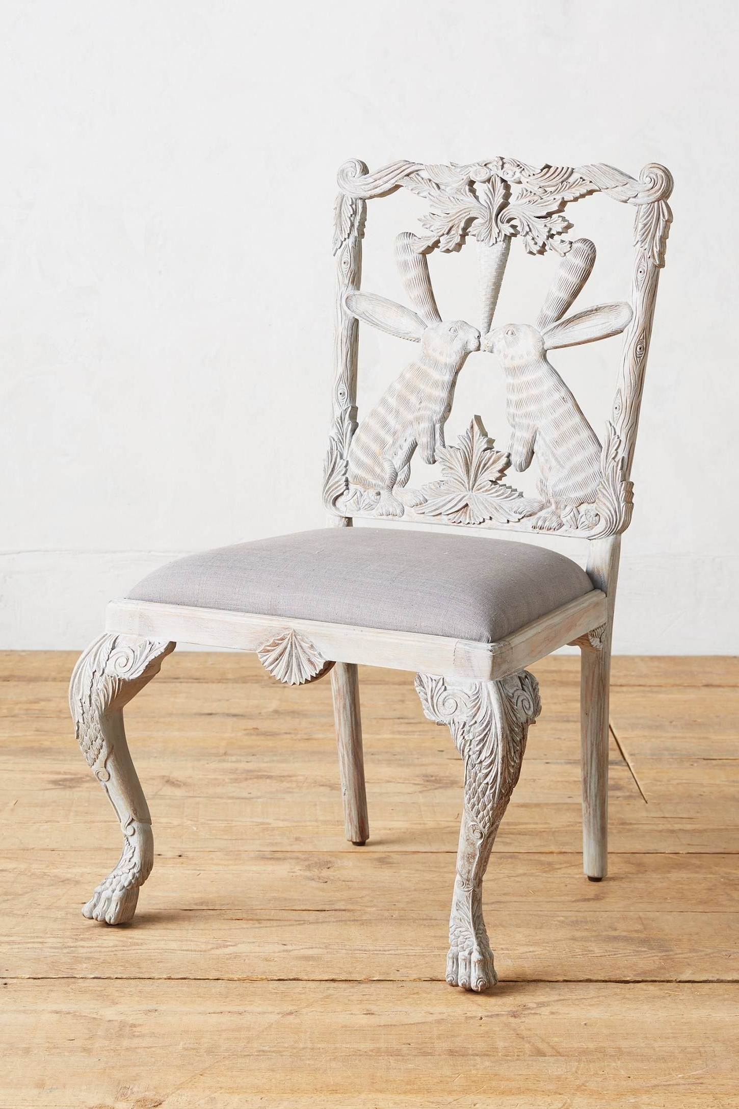 Magnolia Home Fog Bloom Chair Intended For Most Popular Magnolia Home Emery Ivory Burlap Side Chairs (View 6 of 20)