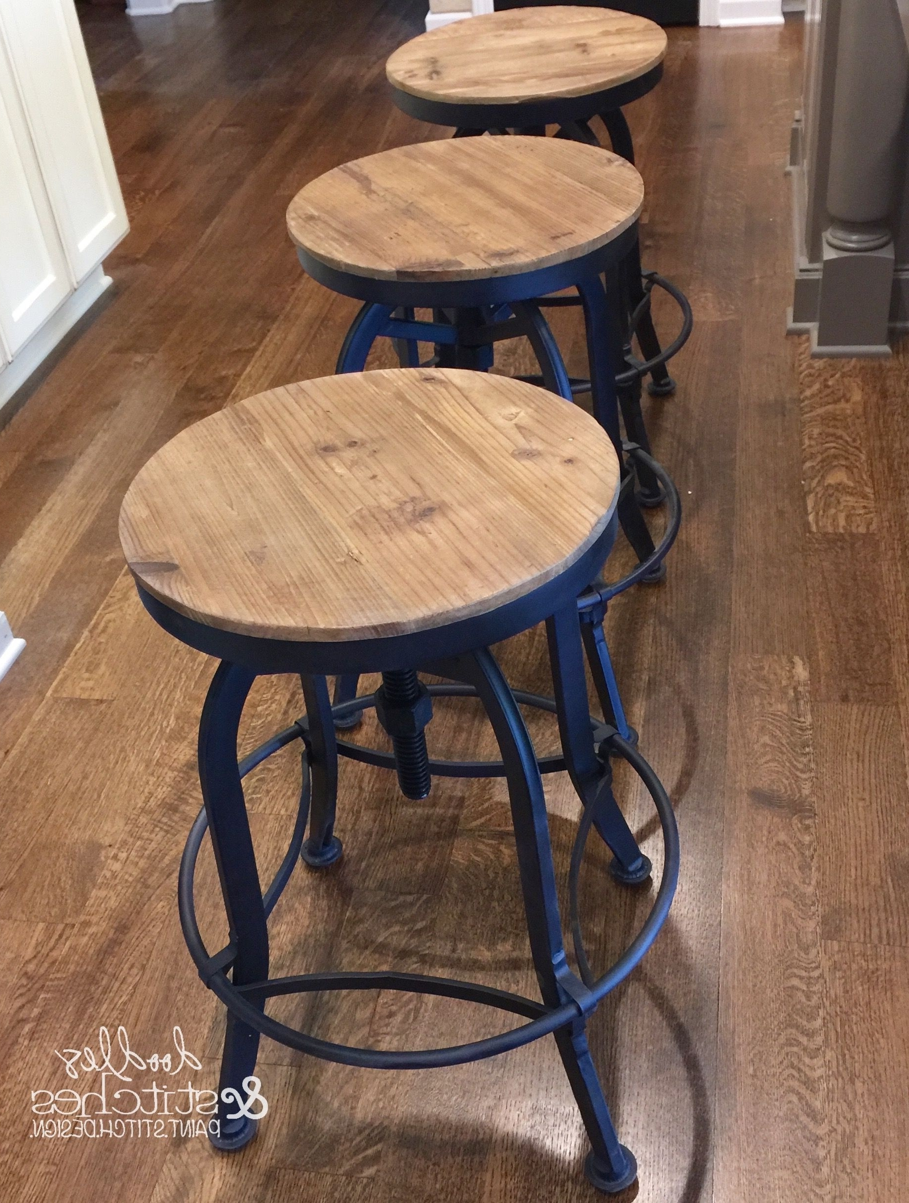 Magnolia Home Hamilton Saddle Side Chairs Regarding Most Up To Date The Perfect Bar Stools, Just Like The Ones Used On Fixer Upper (View 9 of 20)