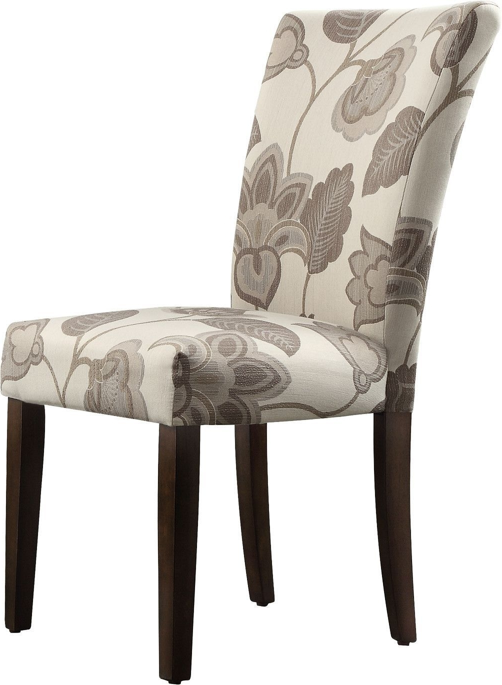 Magnolia Home Kempton White Side Chairs Bjg Regarding Current Wingston Parson Chair (View 11 of 20)