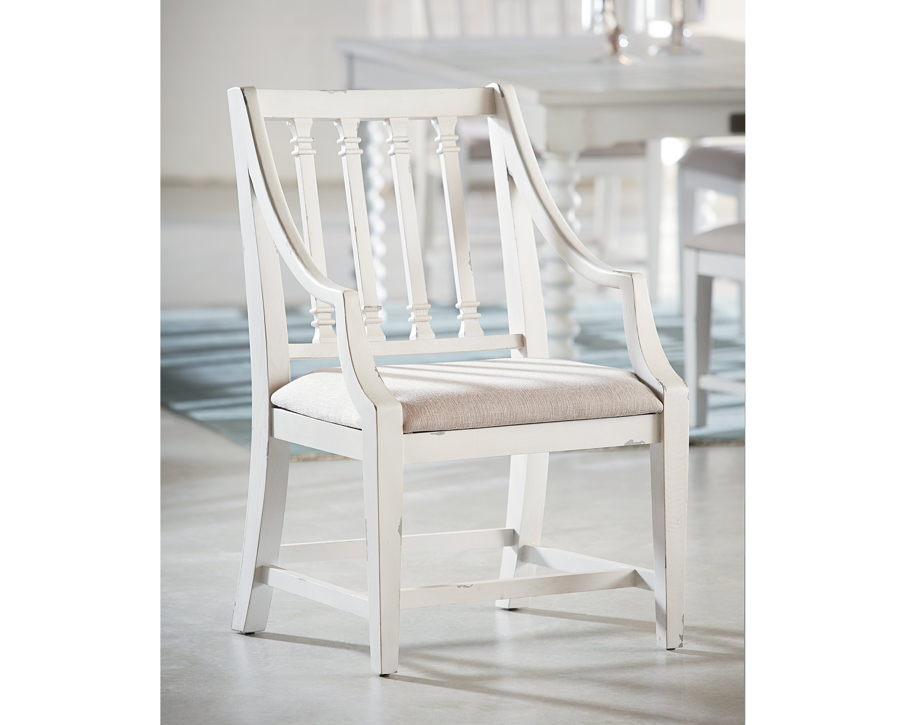 Magnolia Home Revival Jo's White Arm Chairs For Fashionable Revival Arm Chair – Magnolia Home (View 3 of 20)