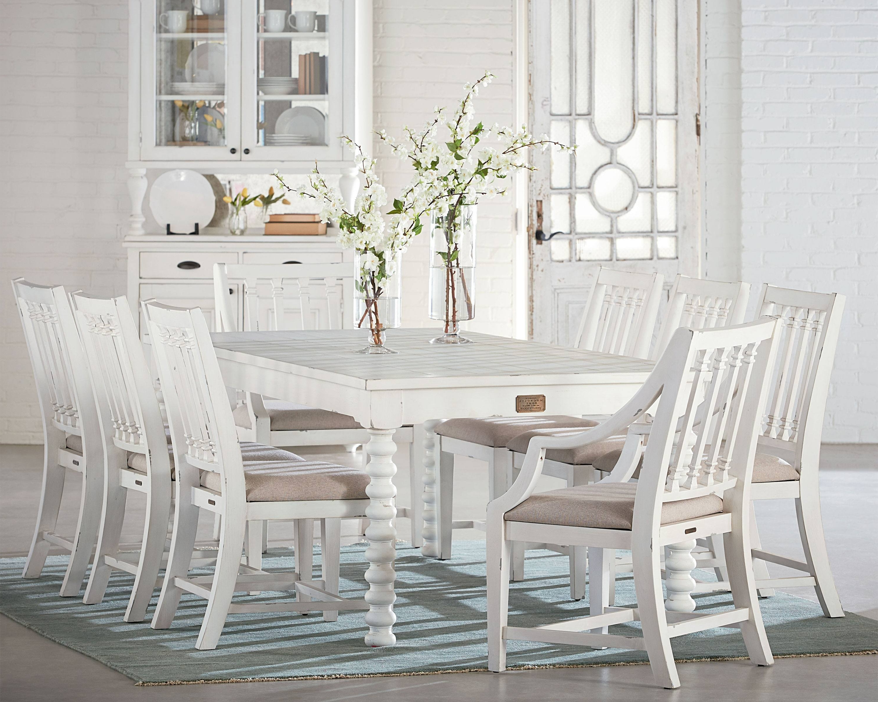 Magnolia Home Revival Side Chairs In Well Liked Spool Leg + Revival – Magnolia Home (View 8 of 20)