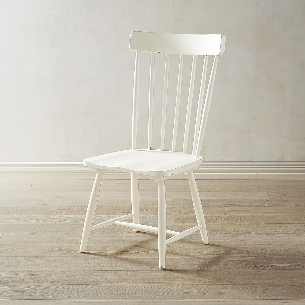 Magnolia Home Spindle Back Side Chairs Within Newest White Spindle Back Chair ($190) (View 17 of 20)