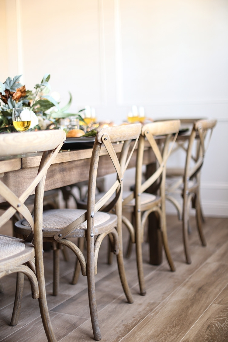 Market Host Chairs Within Famous Dining Room Updates For Easy Holiday Hosting – Danggle Markets (View 9 of 20)