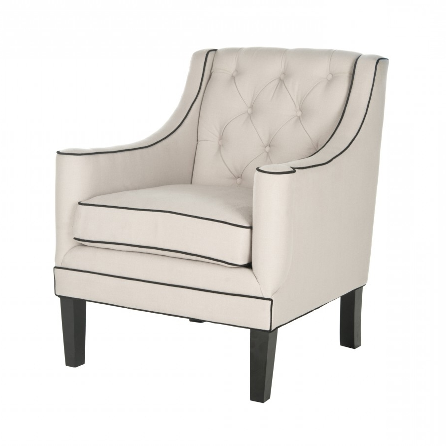 Market Side Chairs Throughout Famous Decor Market Safavieh Sherman Arm Chair Accent Chairs (View 10 of 20)