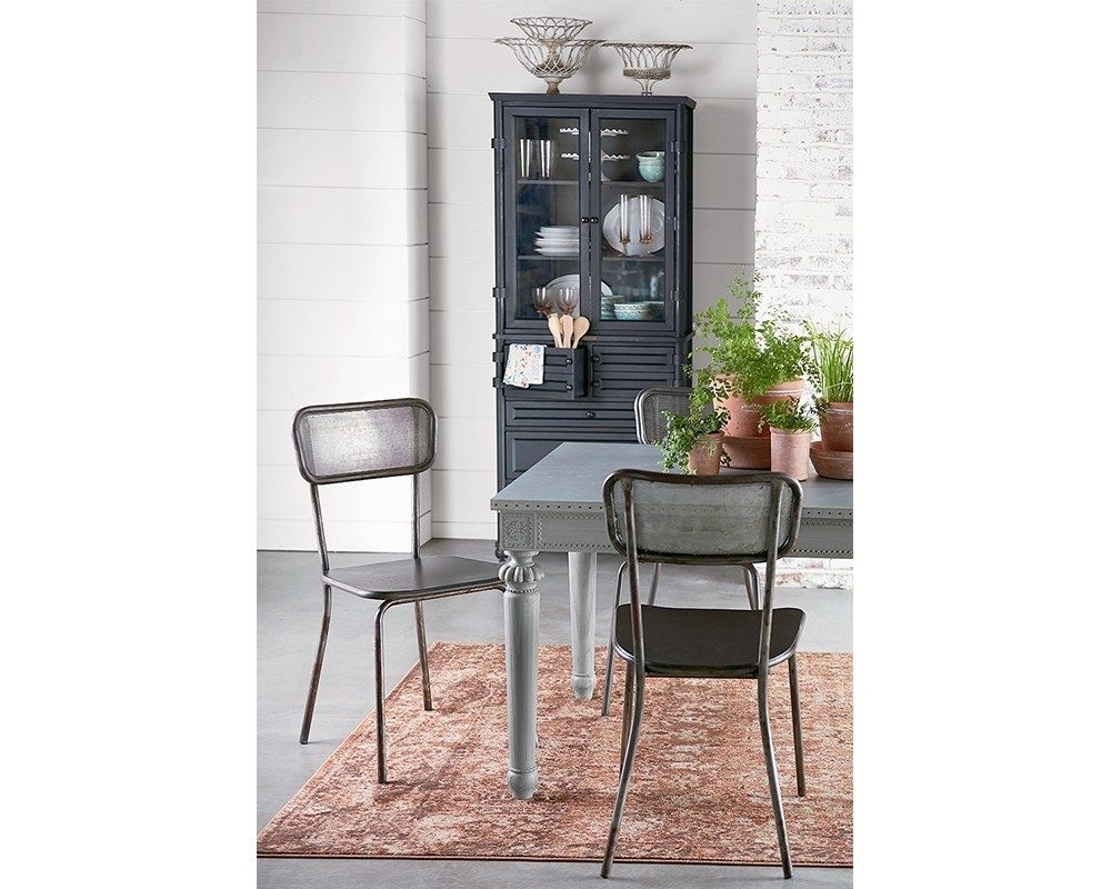 Method Mesh Back Chairs With Calais Table – Magnolia Home (View 14 of 20)