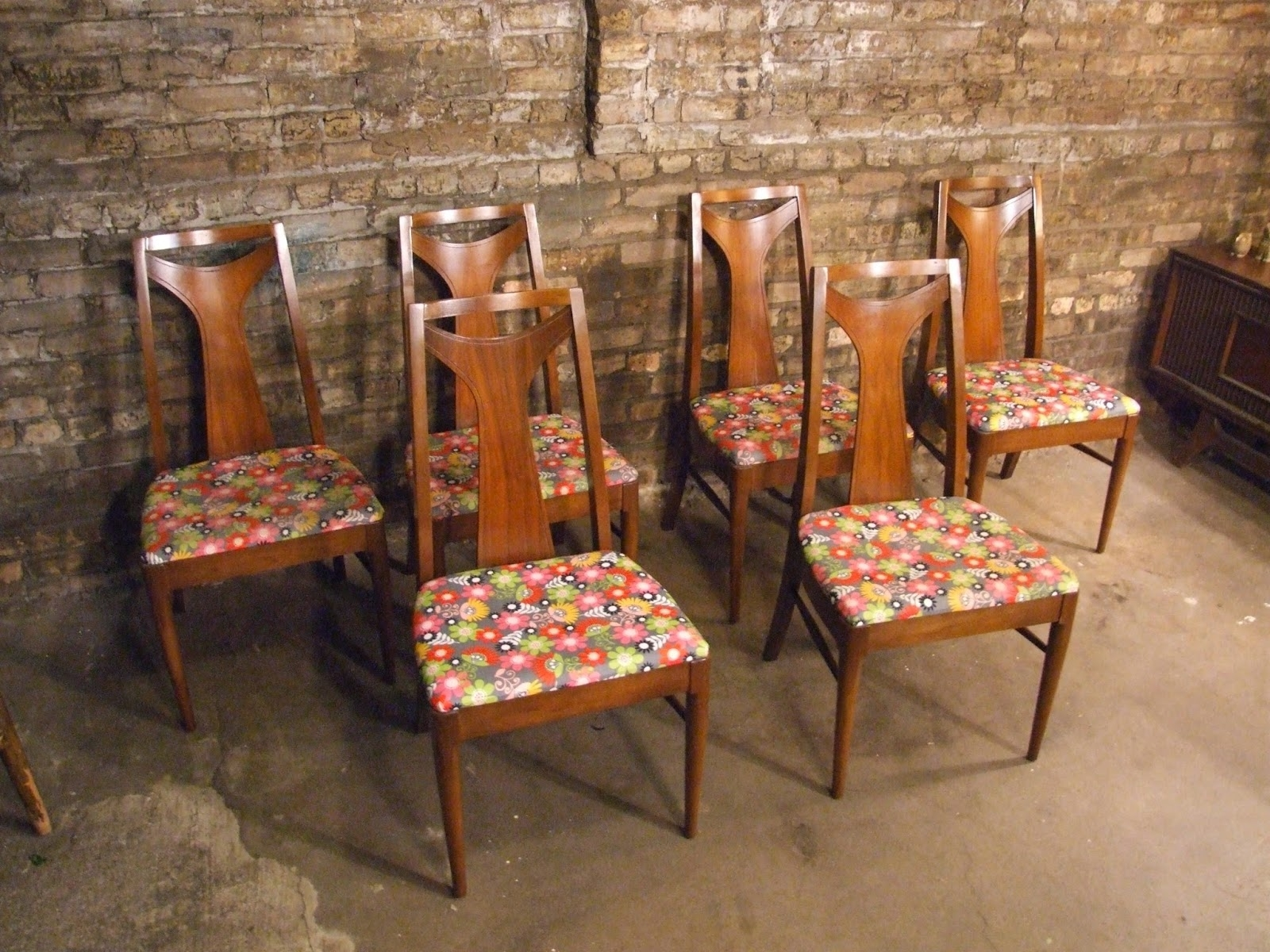 Mid Century Chicago: Set Of 6 Kent Coffey Dining Chairs Inside Fashionable Kent Dining Chairs (View 12 of 20)