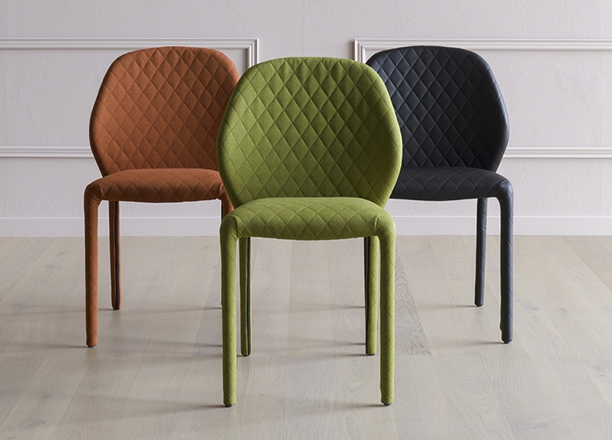 Miniforms Dumbo Quilted Dining Chair (View 11 of 20)