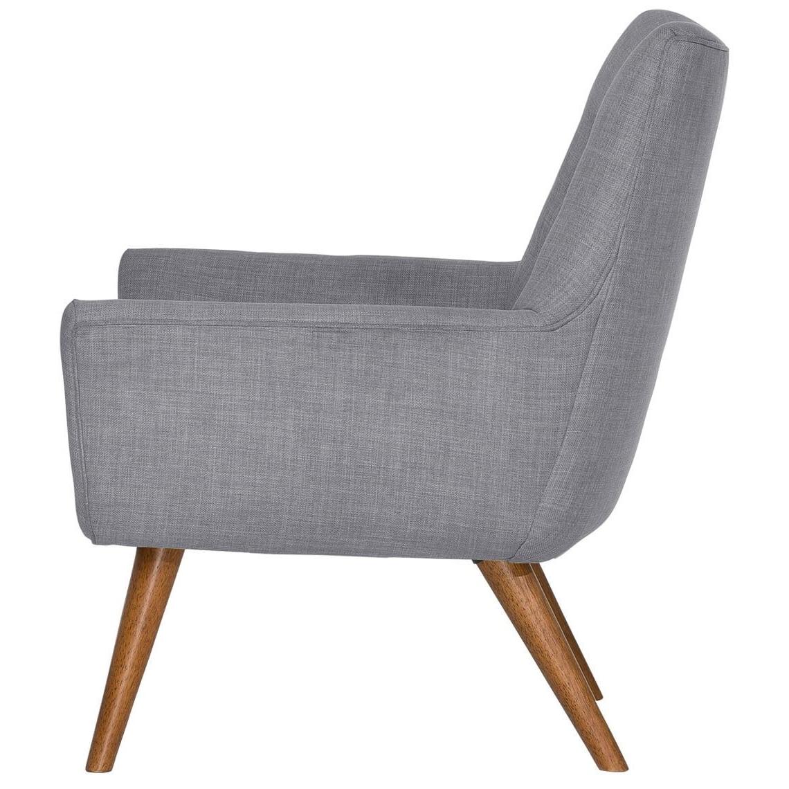 Moda Grey Side Chairs Regarding Current Hazelnut Leg) Light Grey Retro Chair (View 19 of 20)