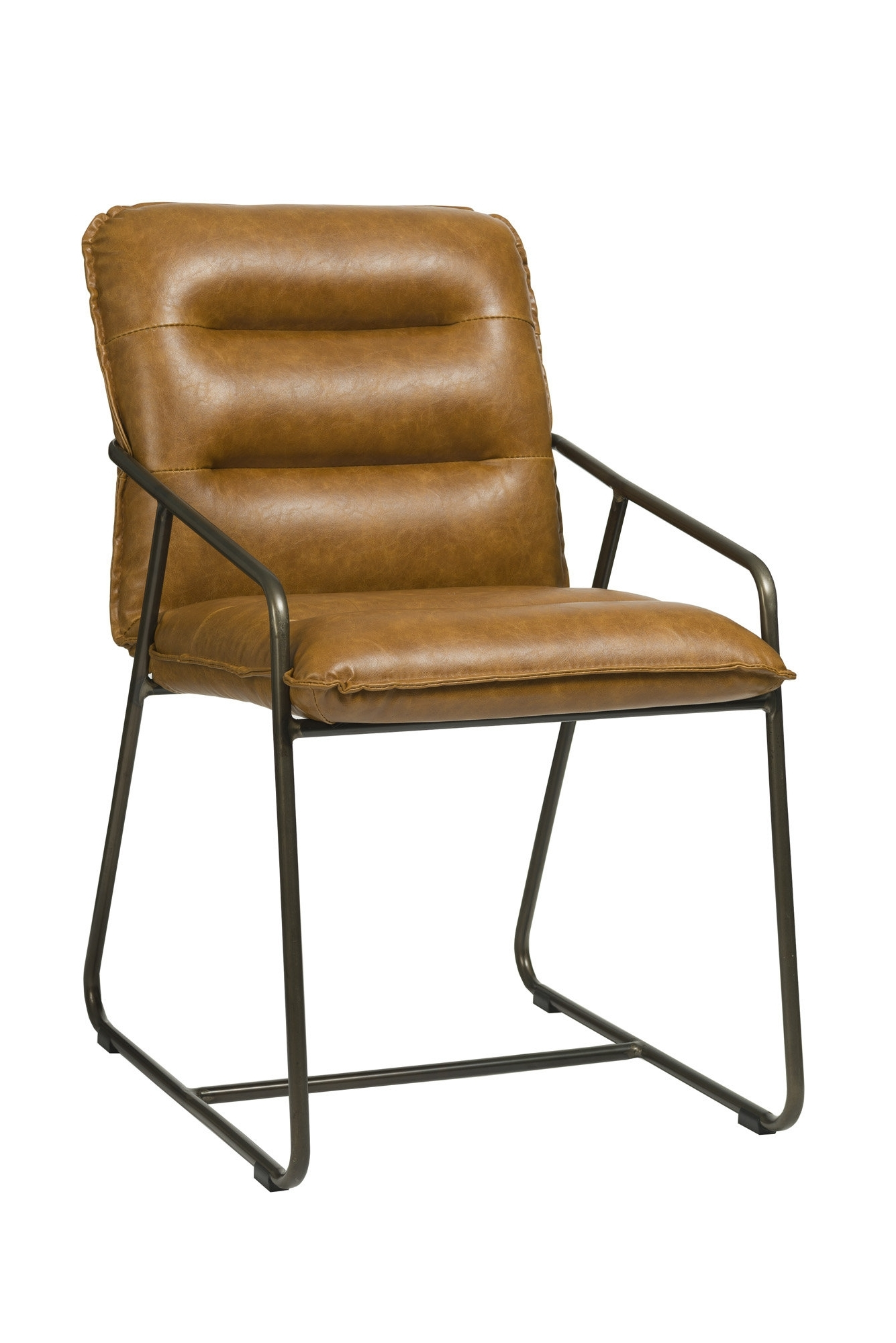 Most Current Cintra Side Chairs In Pullman Side Chair – Tan Brown (View 10 of 20)