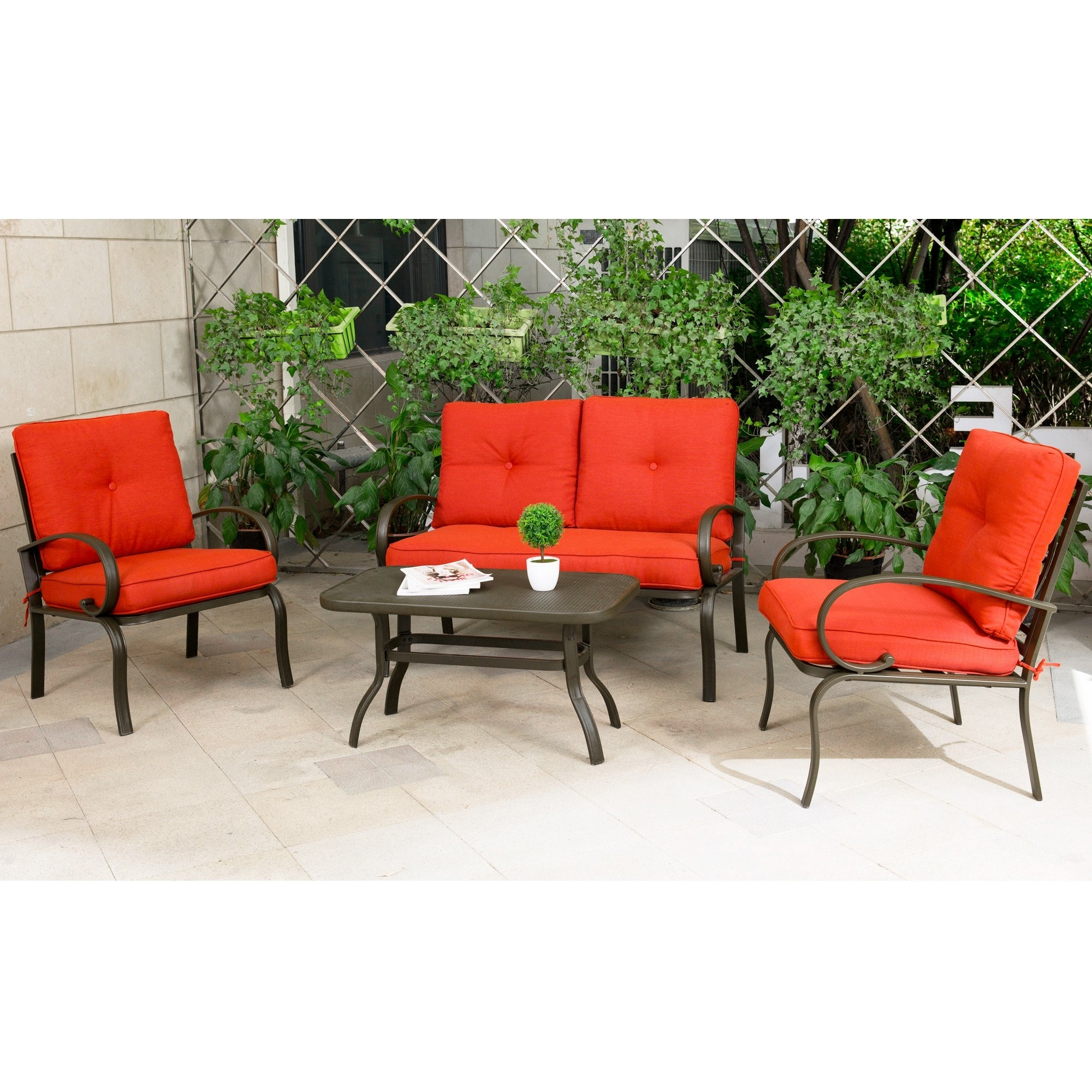 Most Current Garten Storm Chairs With Espresso Finish Set Of 2 With Regard To Best Rated In Patio Furniture Sets & Helpful Customer Reviews (View 11 of 20)