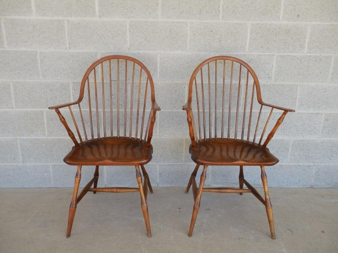 Most Current L E Partridge Windsor Style Hoop Back Faux Bamboo Leg Arm Chairs With Regard To Partridge Side Chairs (View 8 of 20)