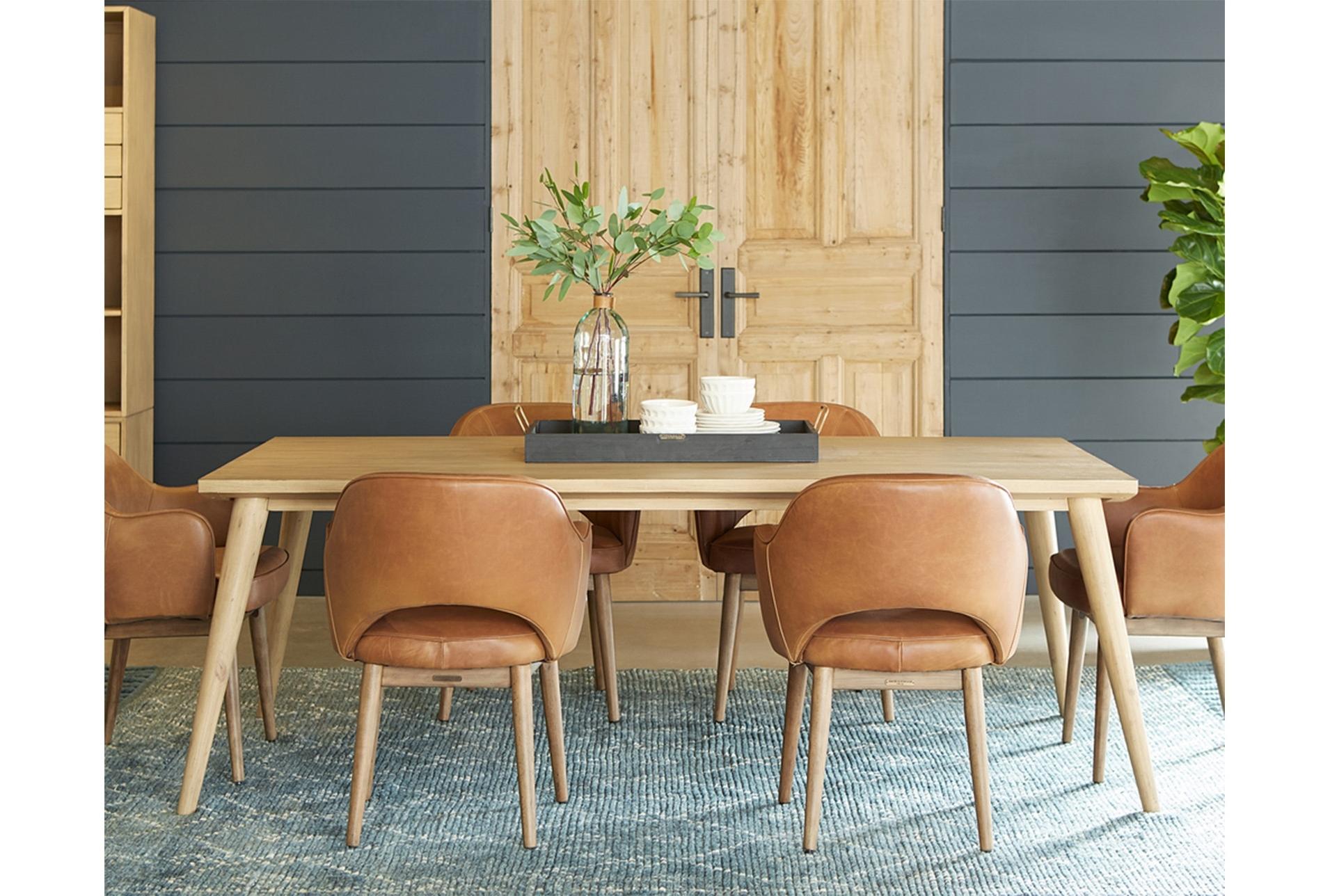 Featured Photo of Magnolia Home Hamilton Saddle Side Chairs