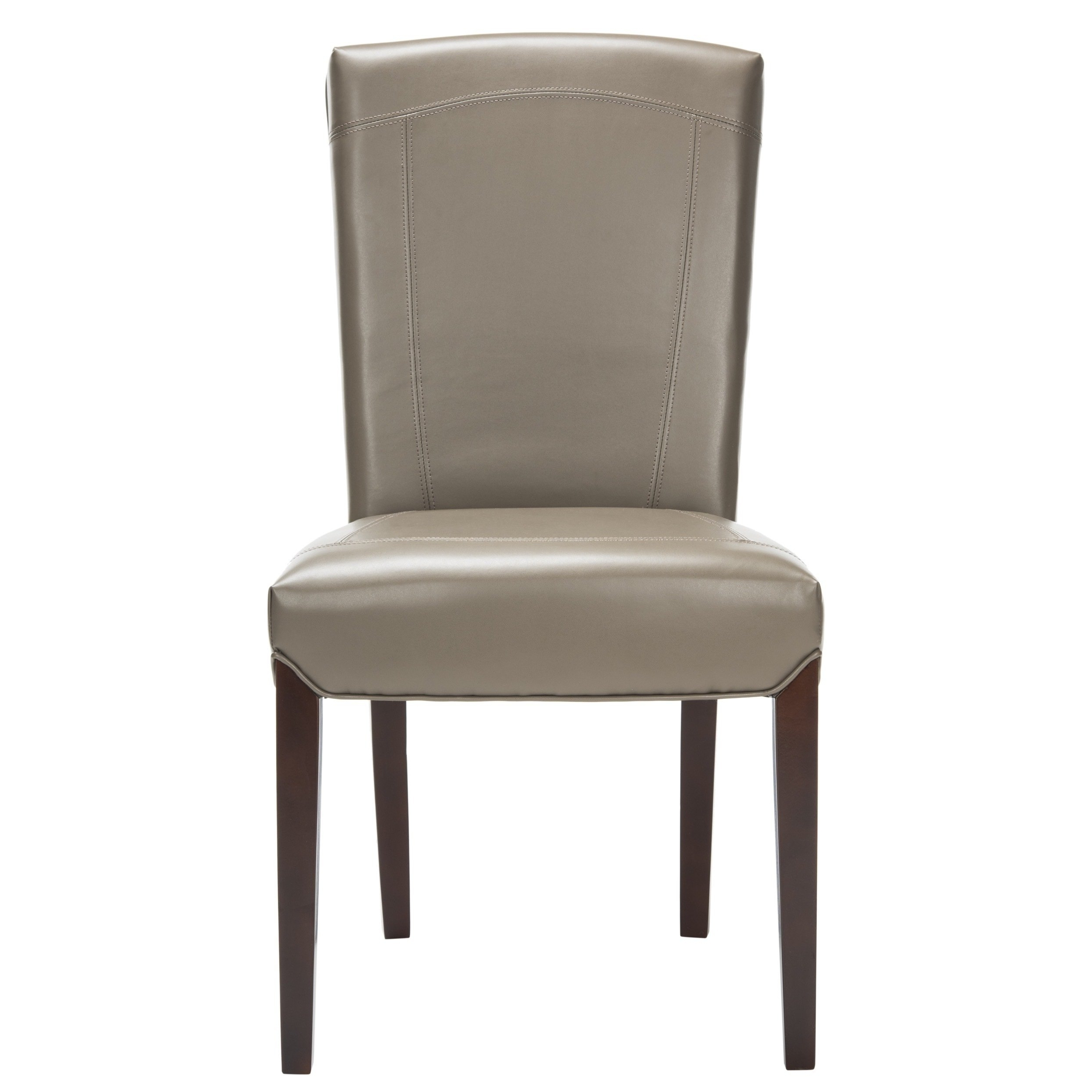 Most Current Shop Safavieh Parsons Dining Bowery Brown Clay Leather Dining Chairs Throughout Clay Side Chairs (View 11 of 20)