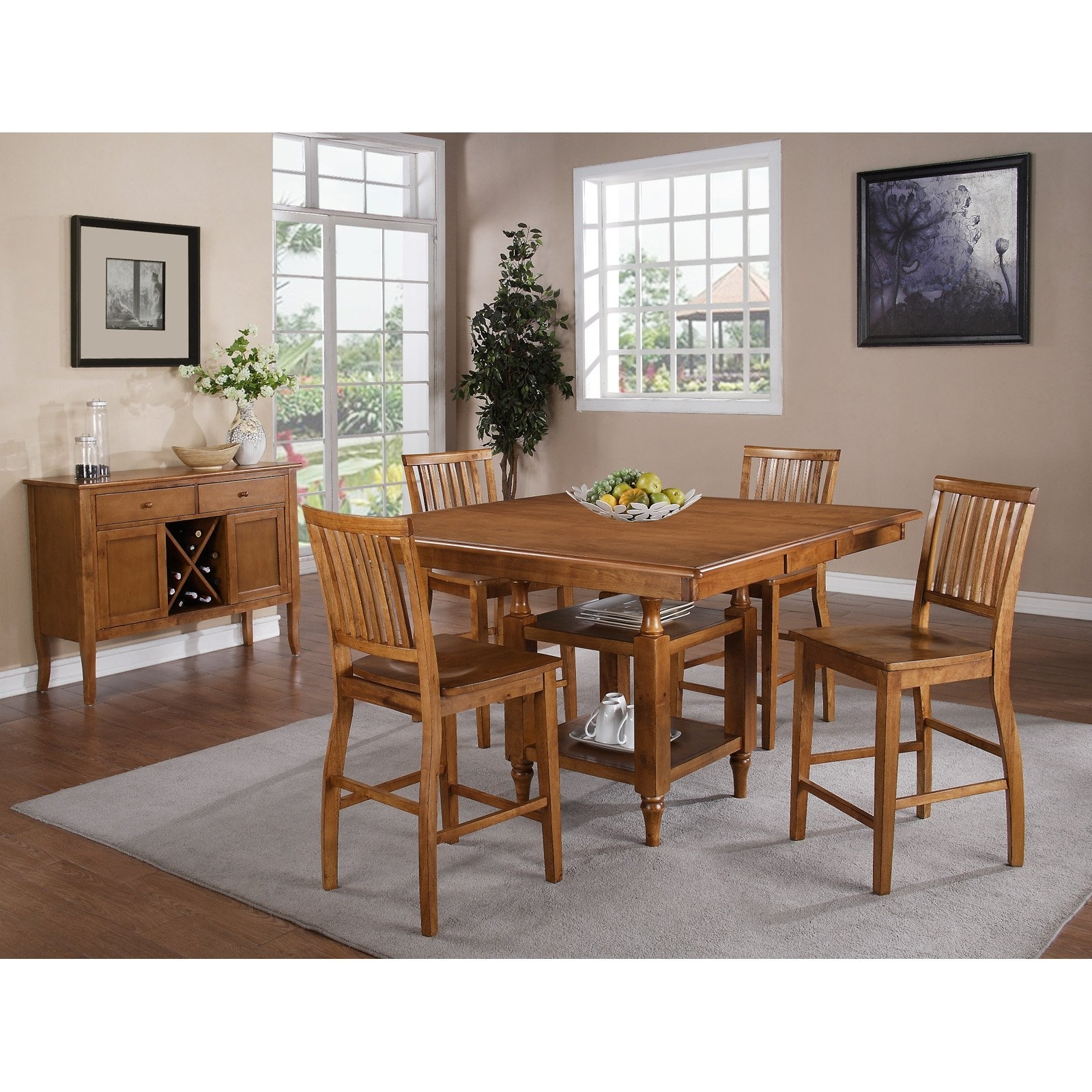 Most Current Steve Silver Candice Counter Height Chairs – Set Of  (View 13 of 20)