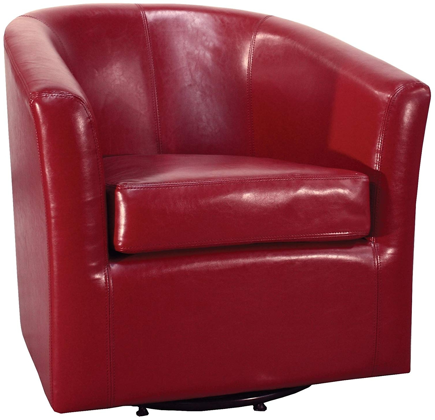 Most Popular Amazon: New Pacific Direct 193012b 67 Hayden Swivel Bonded Intended For Hayden Cognac Side Chairs (View 17 of 20)