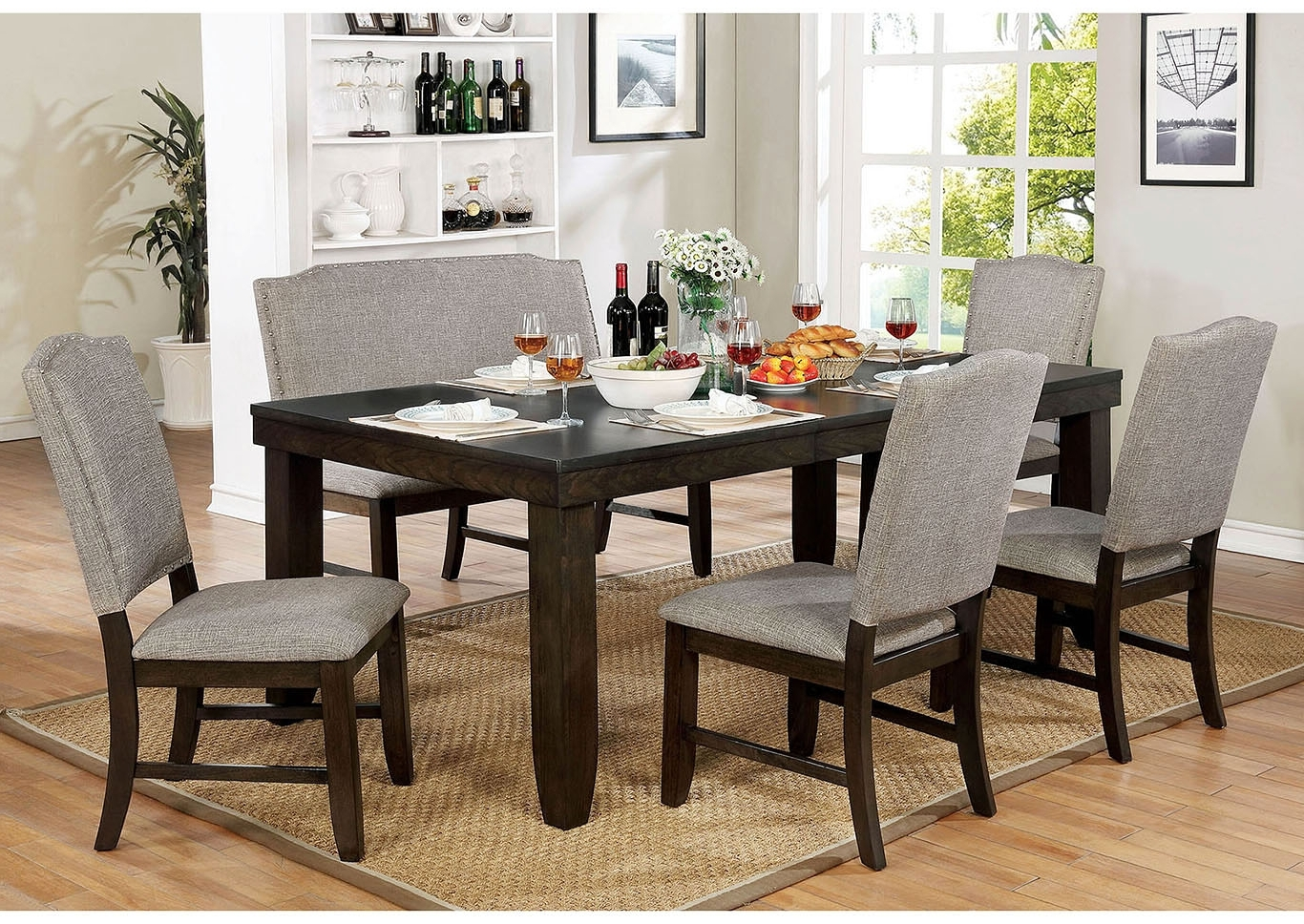 Most Popular Brothers Fine Furniture Teagan Dining Table Pertaining To Teagan Side Chairs (View 6 of 20)