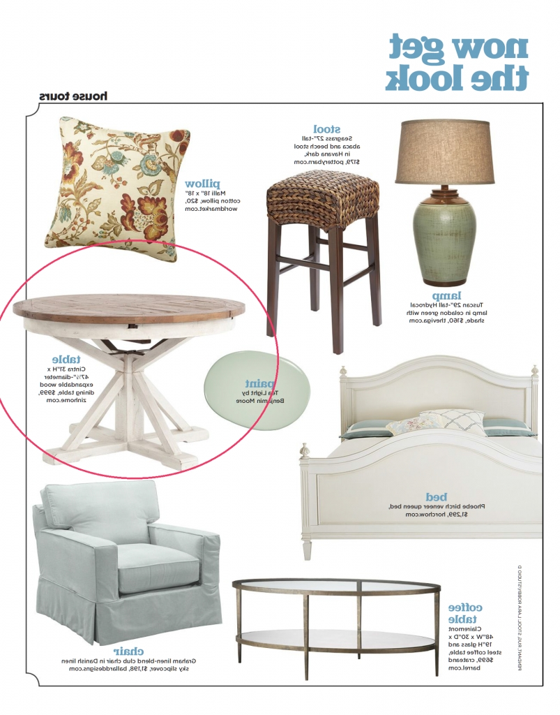 Most Popular Cintra Side Chairs For Hgtv Magazine: Zin Home Cintra Expandable Table (View 6 of 20)