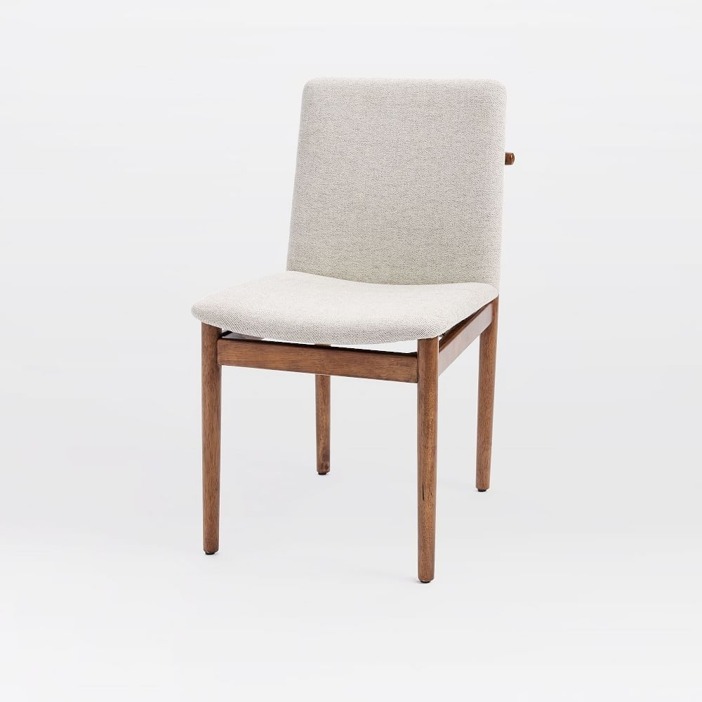 Most Popular Durango Smoke & Warm Cedar Dining Chairs With Contour Mid Century Chair, Twill, Teal At West Elm – Chair (View 20 of 20)